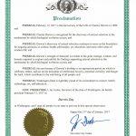 WASHINGTON GOVERNOR JAY INSLEE ISSUES DARWIN DAY PROCLAMATION